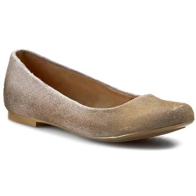Flats MACIEJKA - SZ903-18/00-1 Brown