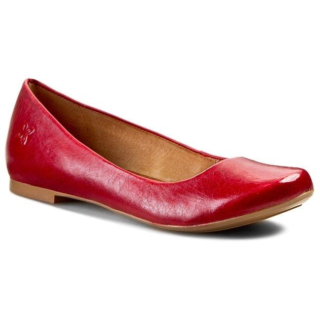 Flats MACIEJKA - SZ903-26/00-1 Czerwona Rosso