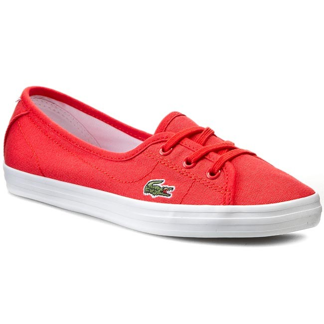 Plimsolls LACOSTE - Ziane Chunky Res Spw 7-29SPW1027RR1 Red