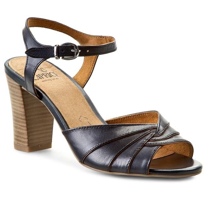 Sandals CAPRICE - 9-28300-24 Navy 805