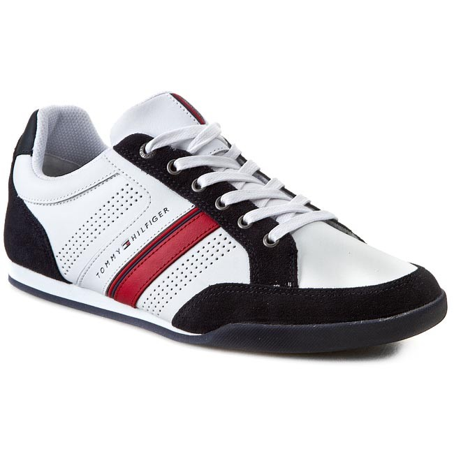 Sneakers TOMMY HILFIGER - Riley 1C FM56818999 Midnight/White/Red 403