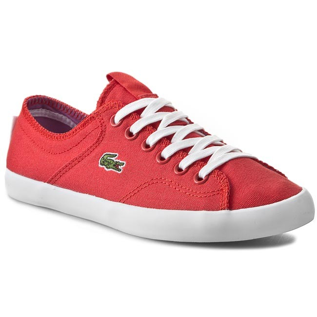 Plimsolls LACOSTE - Ramer Sleek Res Spw 7-29SPW1023RR1 Red