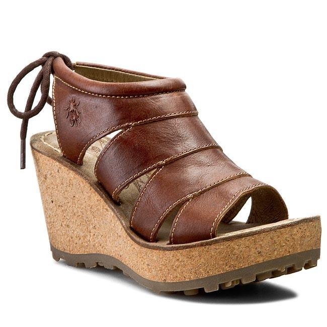 Sandals FLY LONDON - Gola P142999010 Tan