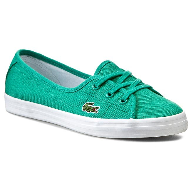 Plimsolls LACOSTE - Ziane Chunky Res Spw 7-29SPW1027GG2 Green/Green Cnv