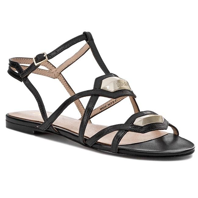 Sandals LIU JO - Sandalo Flat Savanna S15093 P0096 Nero 22222