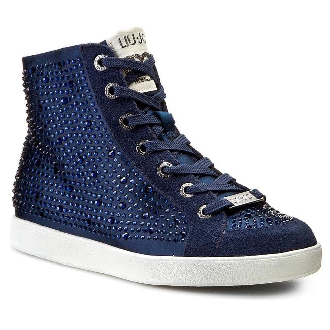 Sneakers LIU JO - Sneaker Alta Aura S15139 T0380 Midnight Blue 94027