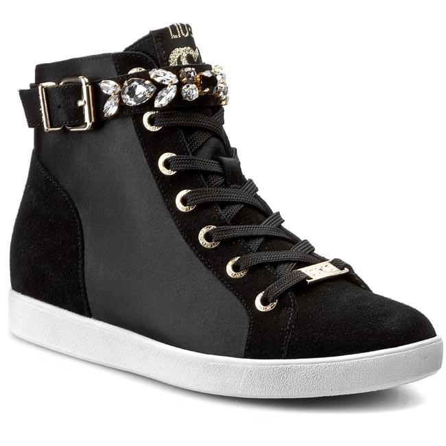 Sneakers LIU JO - Tronchetto Pelle S15149 P0079 Nero 22222