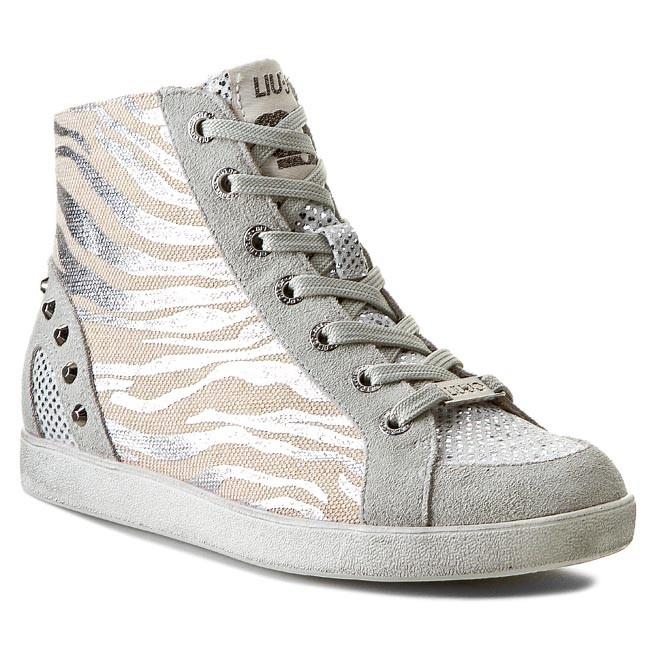 Sneakers LIU JO - Sneaker Alta Eva S15145 T8024  Silver 00532