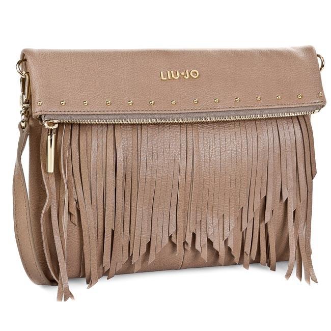 Handbag LIU JO - Tracolla Pochette N15201 P0128 Wet Sand 61109