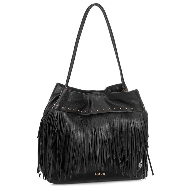 Handbag LIU JO - Monospalla L Azzurr N15203 P0128 Nero 22222