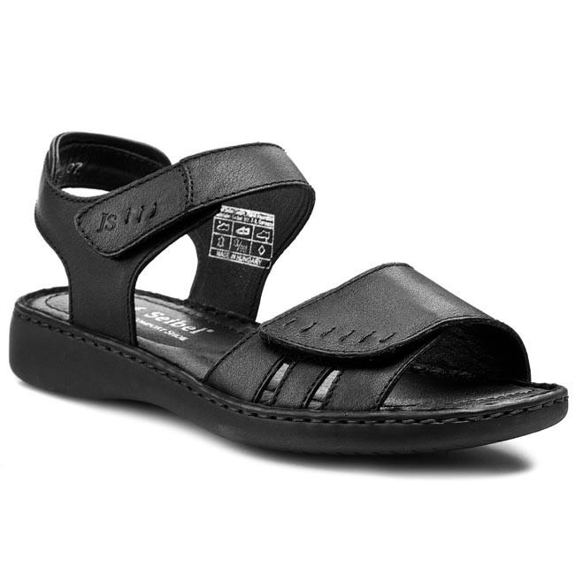 Sandals JOSEF SEIBEL - Lisa 01 73715 23 600 Schwarz