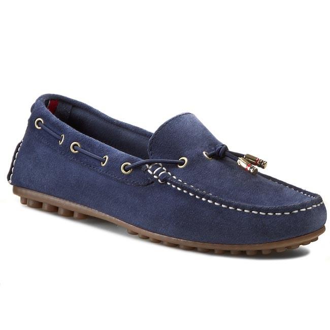 Moccasins TOMMY HILFIGER - Kendall 9B FW56818784  Monaco Blue 479