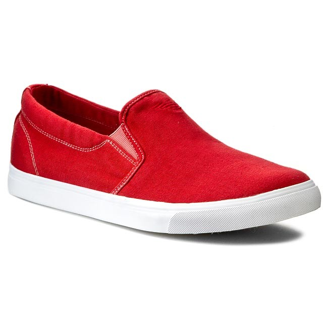 Plimsolls ARMANI JEANS - A6564 53 Y4 Red
