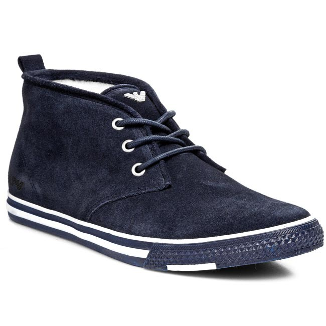 Boots ARMANI JEANS - A6546 51 Y5 Blue