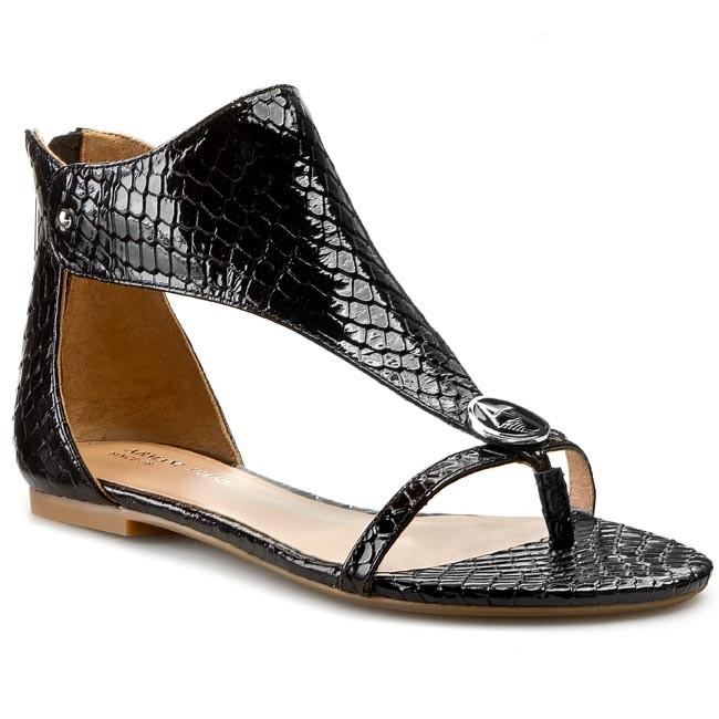 Sandals ARMANI JEANS - A55E6 38 12 Black