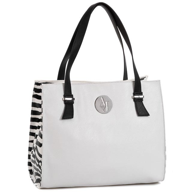Handbag ARMANI JEANS - A523B V1 1D  White