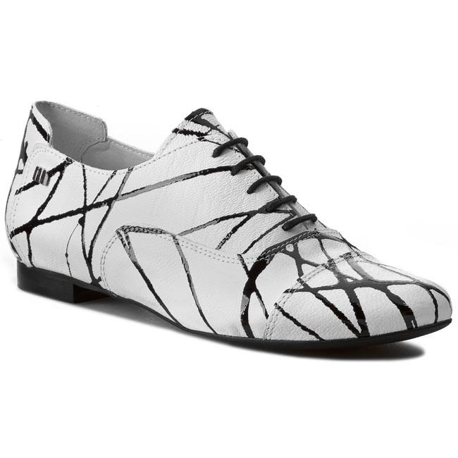 Oxfords MACCIONI - 504 White Black