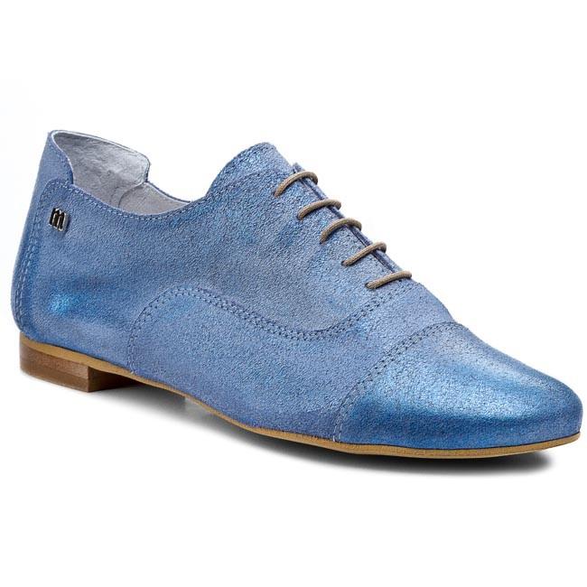 Oxfords MACCIONI - 504  Blue