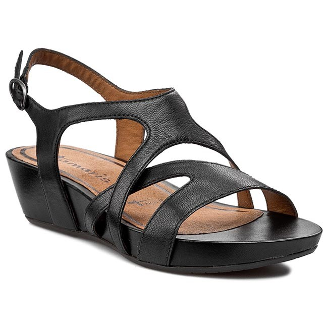 Sandals TAMARIS - 1-28210-24 Black 001