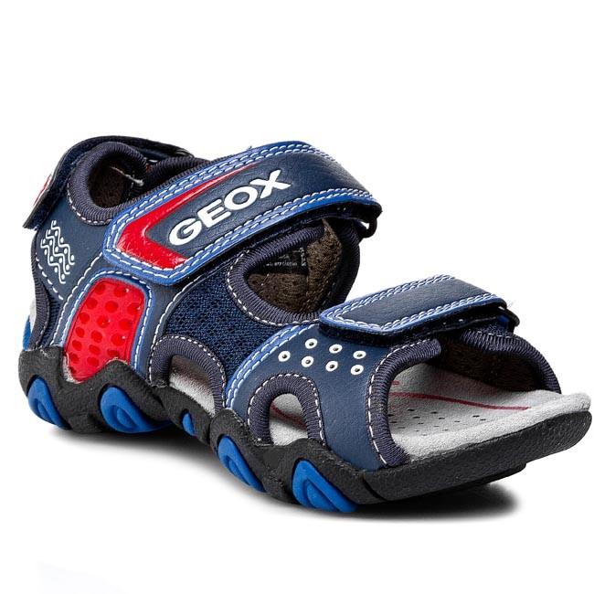 Sandals GEOX - J Sand Strike E J5224E 014BU C4226 Morski/Królewski