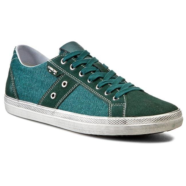 Shoes GEOX - U Smart D U52X2D 01022 C3018 Leśny