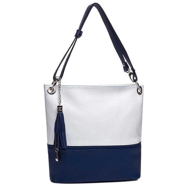 Handbag CREOLE - RBI1109 Biały/Granat