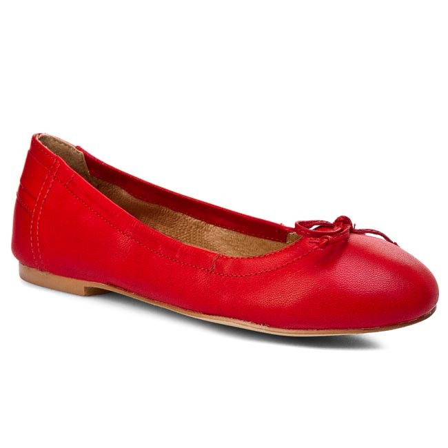 Flats CAPRICE - 9-22109-24 Red 500