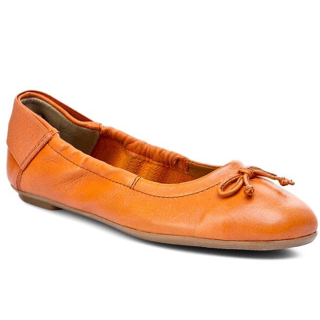 Flats CAPRICE - 9-22163-24 Orange 606