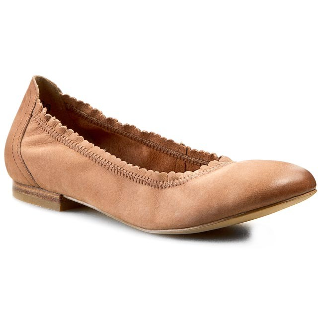 Shoes CAPRICE - 9-22108-24 Sand  Nubuck 357