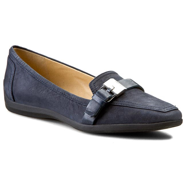 No pretencioso Ajuste preocuparse  Lords GEOX - D Kalinda A D44M5A 0SE43 C4002 Navy - Lords - Low shoes -  Women's shoes   efootwear.eu