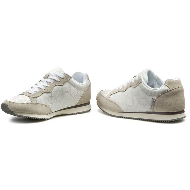9ae3979da3 Sneakers CALVIN KLEIN JEANS - Major Ck Logo Jacquard/Suede SE8369 ...