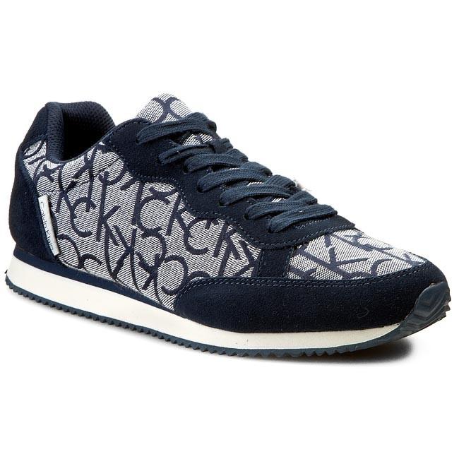 b1de407bfd Sneakersy CALVIN KLEIN JEANS - Major Ck Logo Jacquard/Suede SE8369 ...