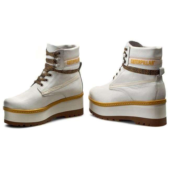 hiking boots caterpillar high hopes p307539 white