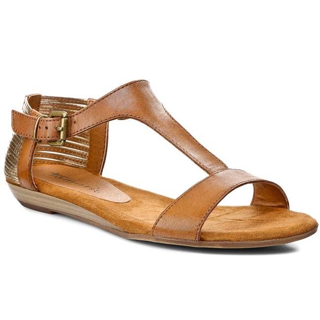 Sandals TAMARIS 1 28105 24 NutGold
