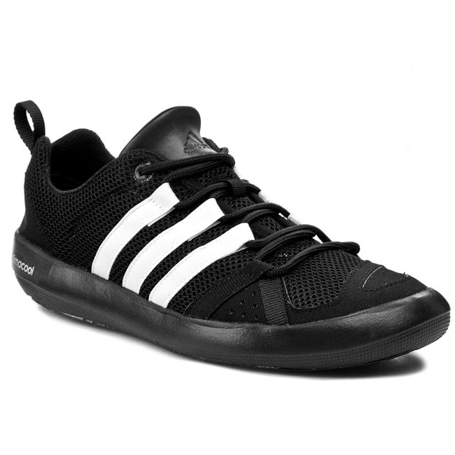 lowest price 5b8b2 db524 Shoes adidas - Climacool Boat Lace B26628 CBlack/CWhite/Silvmt