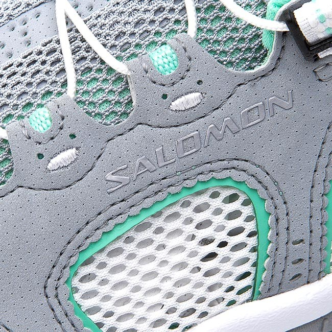 Trekker Boots SALOMON Techamphibian 3 W 373271 20 M0 Light OnixWhiteLucite Green