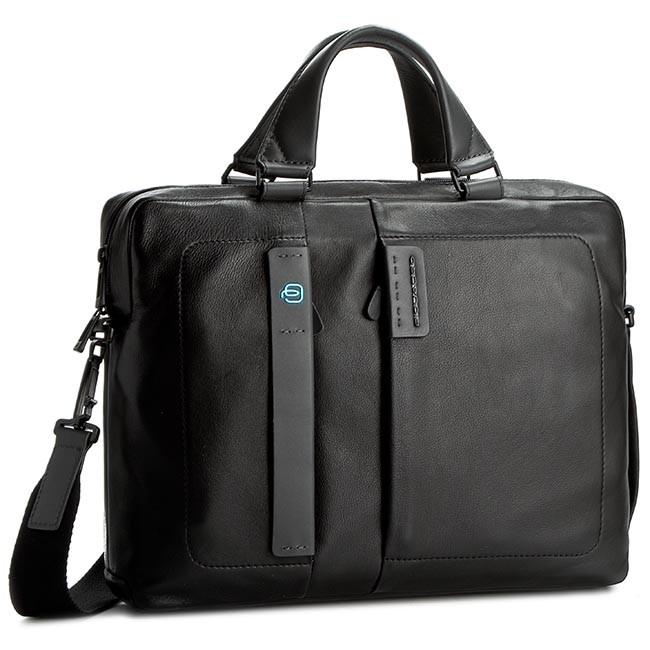 Laptop Bag Piquadro Ca1903p15 N Black Notebook Bags