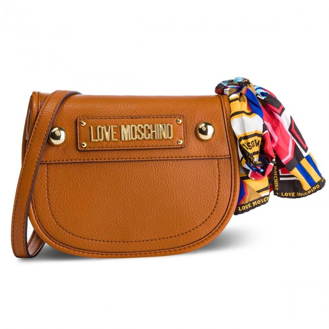Handbag LOVE MOSCHINO JC4039PP17LD0200 Cuoio