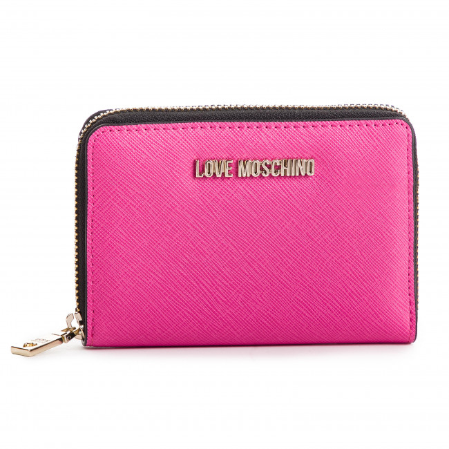 Large Women's Wallet LOVE MOSCHINO - JC5558PP06LQ0604  Fuxia