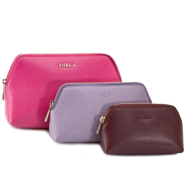 Beauty Case Set FURLA - Isabelle 783895 E EI20 ARE Pinky/Storm/Bar