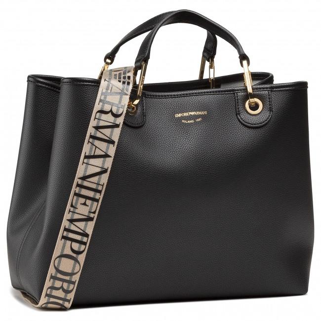 Handbag EMPORIO ARMANI - Y3D165 YFO5B 85218 Nero/Silver