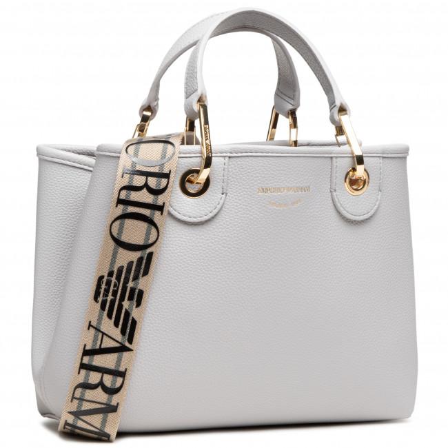 Handbag EMPORIO ARMANI - Y3D166 YFO5B 85175 Pearl/Tobacco