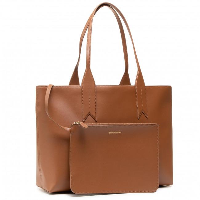 Handbag EMPORIO ARMANI - Y3D081 Y267A 80082 Tobacco