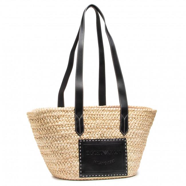 Handbag EMPORIO ARMANI - Y3D209 Y279Y 88096  Natural/Nero