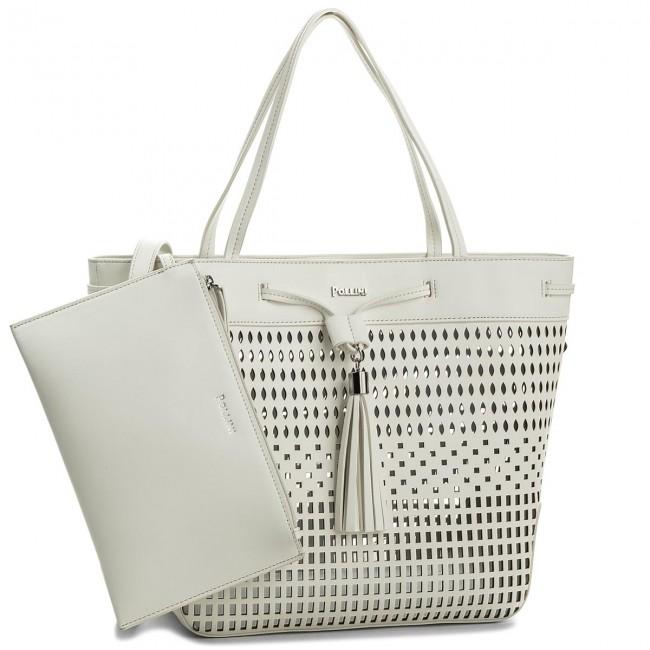 Handbag POLLINI SC4526PP05SK0100 Bianco