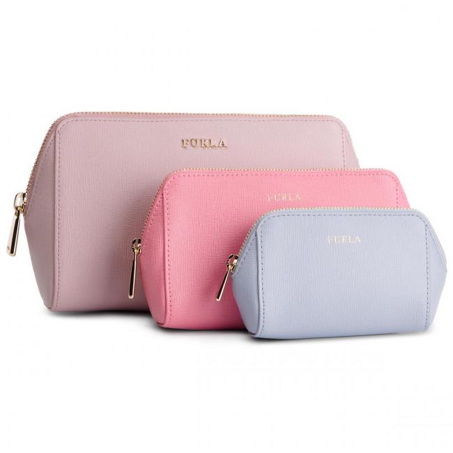 Beauty Case Set FURLA - Electra 1014225 E EL95 B30 Camelia e/Flamingo f/Violetta f