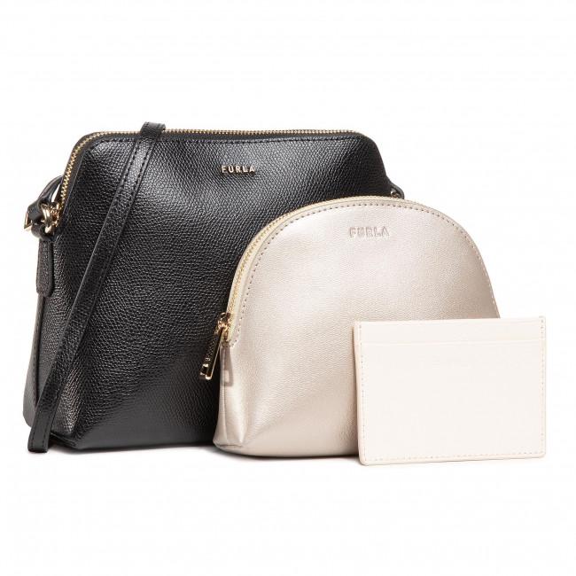 Handbag FURLA - Boheme EBC7B90ARE000-0369S-1-007-20-CN-E Nero/Oro/Pergamena