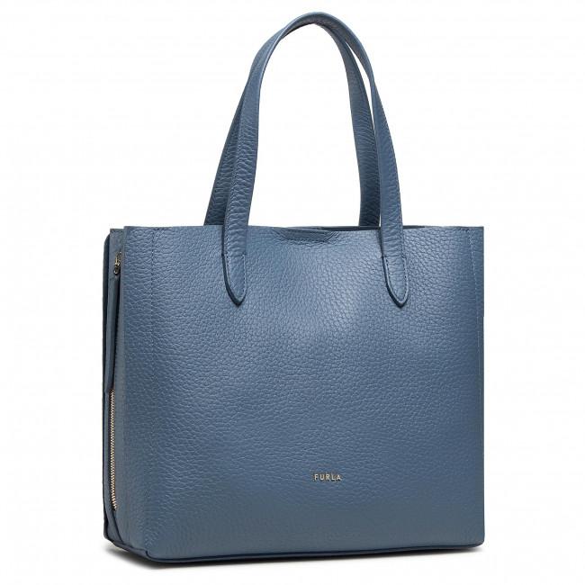 Handbag FURLA - Grace WB00173-NVD000-0243S-1-007-20-RO-B Blu Denim/Pergamena