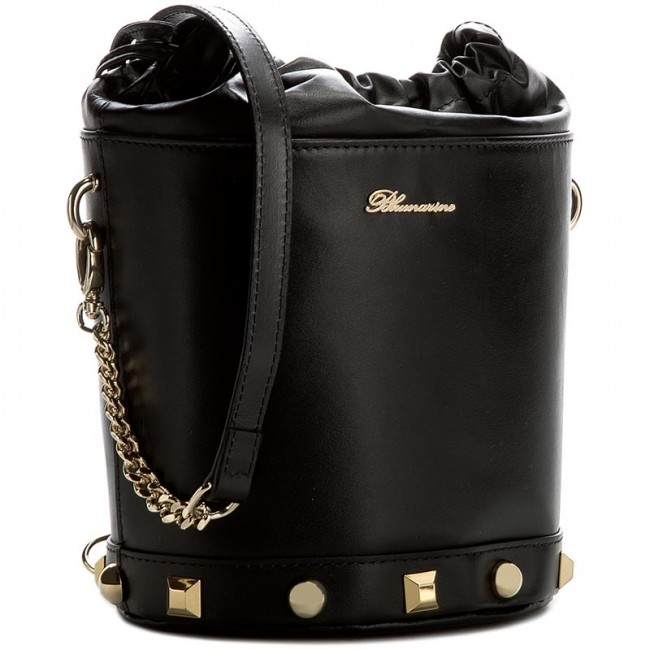 arriving new york new appearance Handbag BLUMARINE - Alexandra B01.007 Black 999
