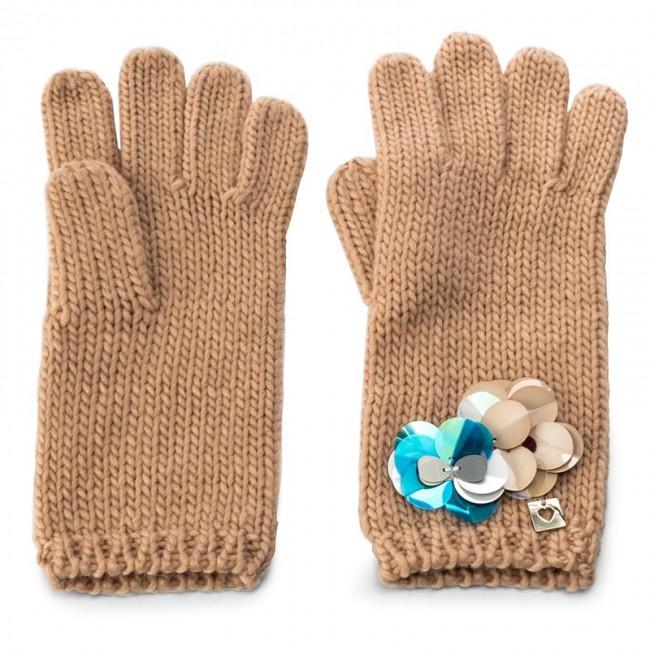 Women's Gloves TWINSET - Guanti OA7T6U  Suntan 00539